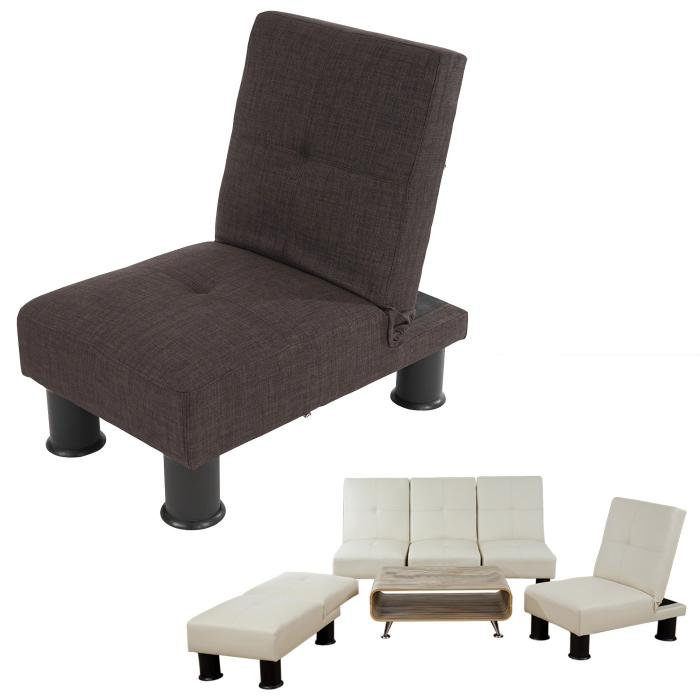 Sessel relaxliege sofa schlafcouch g stebett melbourne ii for Sessel textil