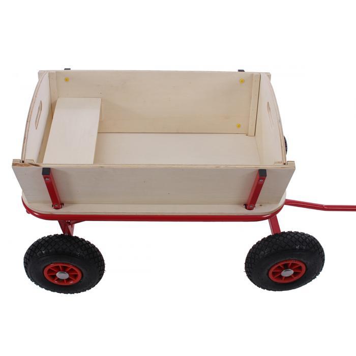 bollerwagen handwagen leiterwagen oliveira mit sitz mit bremse ohne dach. Black Bedroom Furniture Sets. Home Design Ideas