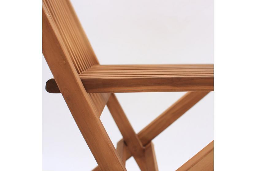 klappstuhl gartenstuhl modena 90x62x45 cm teak. Black Bedroom Furniture Sets. Home Design Ideas