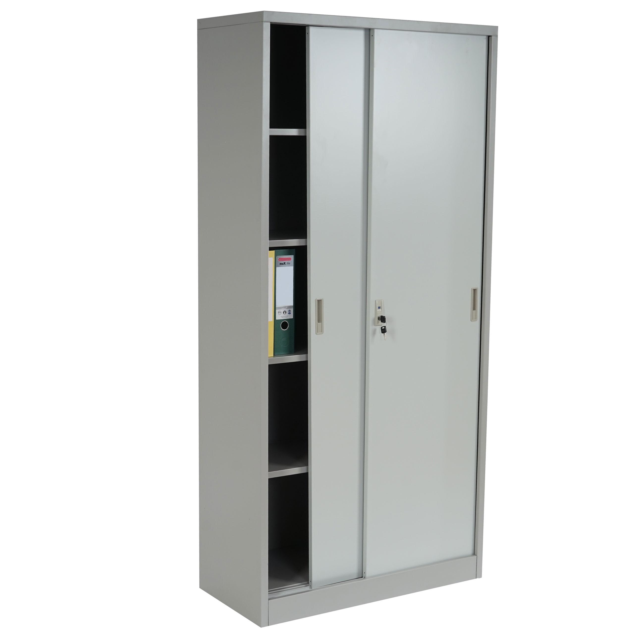 Aktenschrank Preston T131, Metallschrank Büroschrank Stahlschrank ...