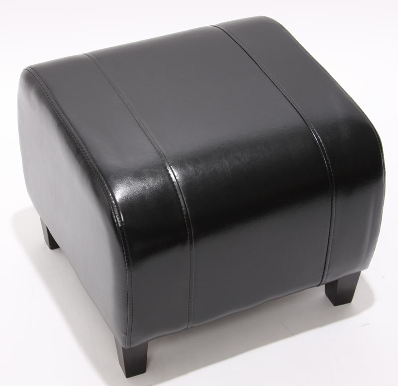 hocker sitzw rfel sitzhocker emmen leder 37x45x47 cm. Black Bedroom Furniture Sets. Home Design Ideas