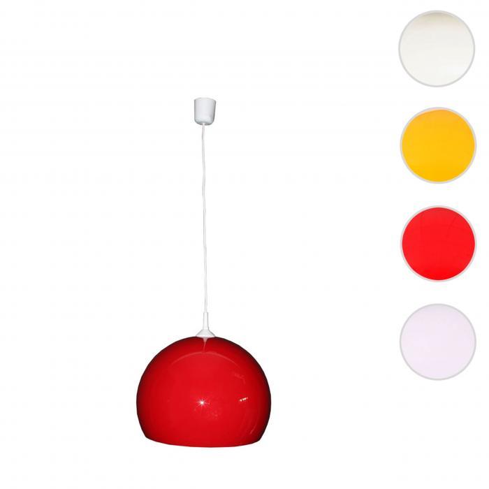 Deckenleuchte Lounge Reality Lampe Deal ~ 40cm Rot trio Schirm Pendelleuchte htdxrCQs