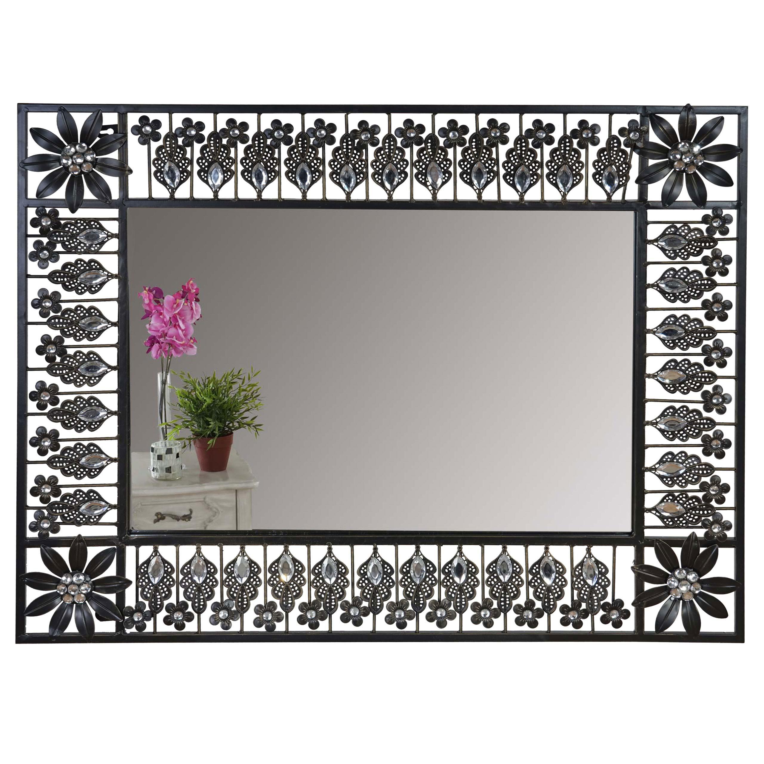 Wandspiegel messina spiegel metall barock antik rund for Spiegel heute