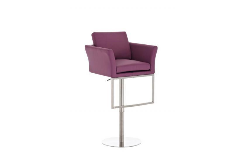 barhocker cp126 barstuhl kunstleder lila. Black Bedroom Furniture Sets. Home Design Ideas