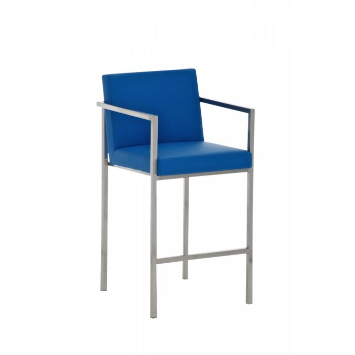 Barhocker Blau cp163 barstuhl blau