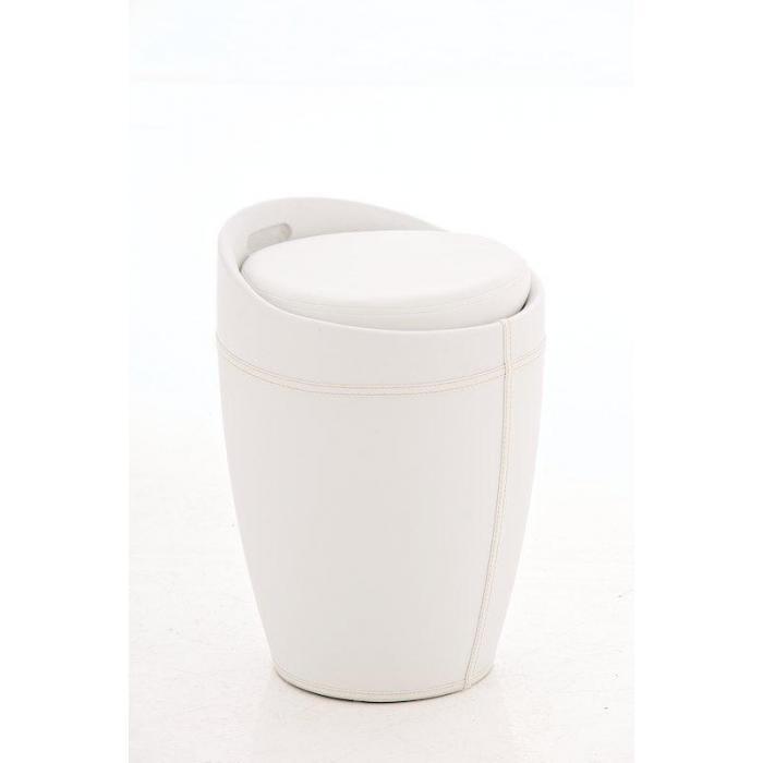 Sitzhocker Mit Stauraum cp206 hocker mit stauraum weiß