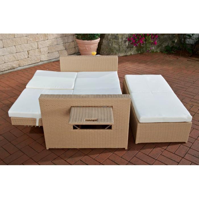 2er sofa cp041 2 sitzer poly rattan sand. Black Bedroom Furniture Sets. Home Design Ideas