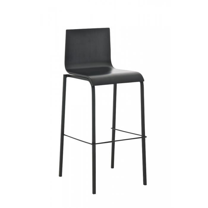 barhocker cp123 barstuhl holz gestell schwarz schwarz. Black Bedroom Furniture Sets. Home Design Ideas