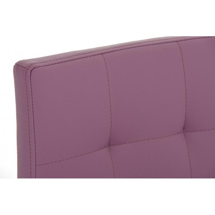 barhocker cp123 barstuhl kunstleder gestell chrom lila. Black Bedroom Furniture Sets. Home Design Ideas