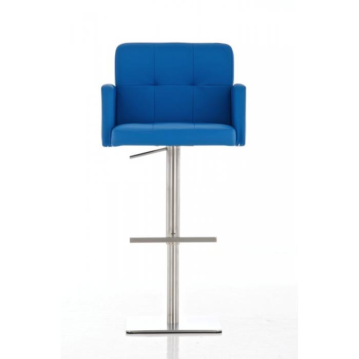 barhocker cp143 barstuhl kunstleder blau. Black Bedroom Furniture Sets. Home Design Ideas