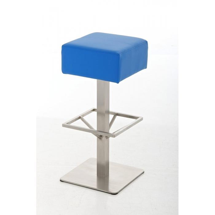 barhocker cp139 barstuhl kunstleder 85cm blau. Black Bedroom Furniture Sets. Home Design Ideas
