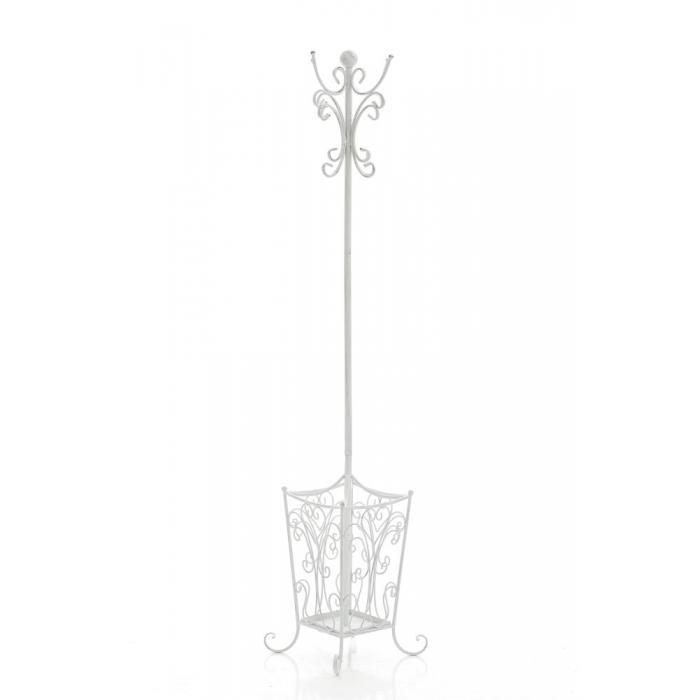 garderobenst nder cp085 kleiderst nder antik wei. Black Bedroom Furniture Sets. Home Design Ideas