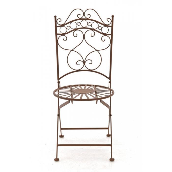 gartenstuhl cp569 bistrostuhl klappstuhl metall antik. Black Bedroom Furniture Sets. Home Design Ideas