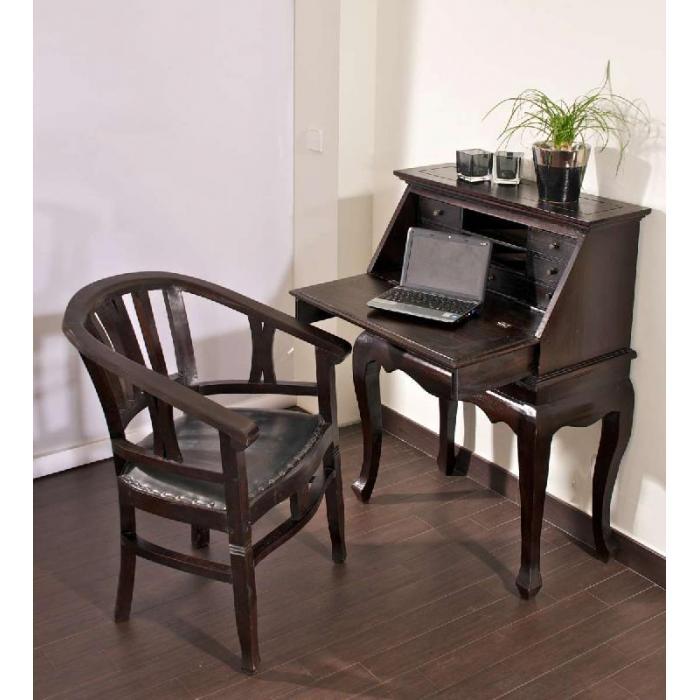 sekret r cp427 schreibtisch dunkelbraun. Black Bedroom Furniture Sets. Home Design Ideas