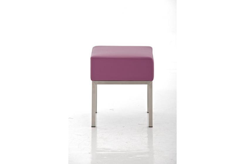 sitzhocker cp214 hocker kunstleder lila. Black Bedroom Furniture Sets. Home Design Ideas
