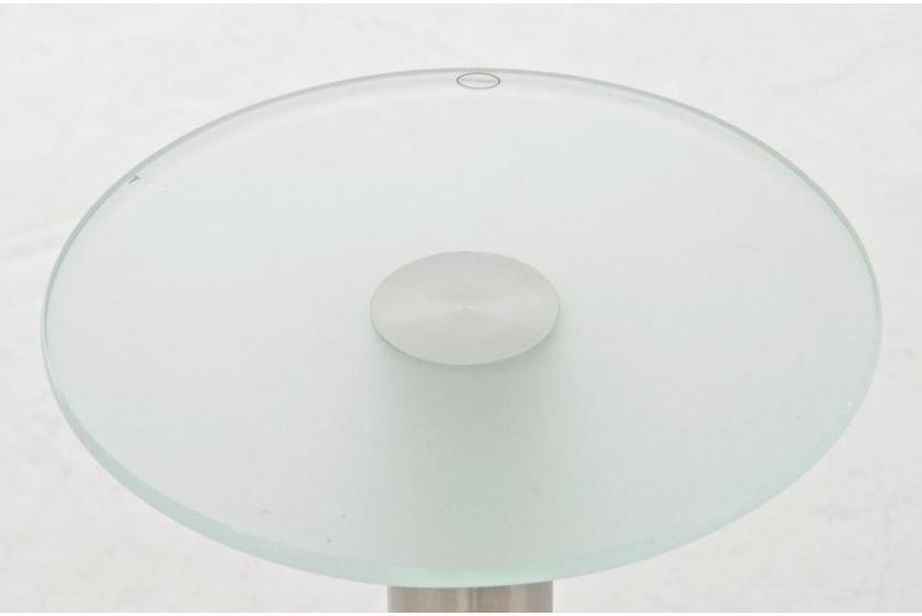 beistelltisch cp306 glastisch couchtisch milchglas. Black Bedroom Furniture Sets. Home Design Ideas