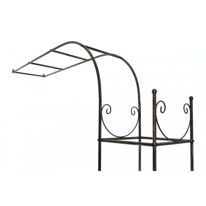 wandrankhilfe cp080 rankhilfe rankgitter eisen 121cm bronze. Black Bedroom Furniture Sets. Home Design Ideas