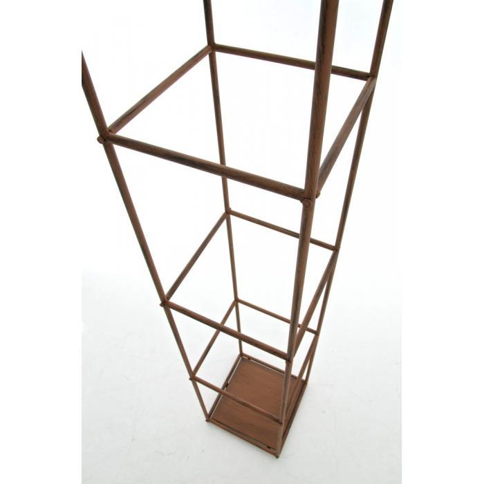 wandrankhilfe cp080 rankhilfe rankgitter eisen 141cm antik braun. Black Bedroom Furniture Sets. Home Design Ideas