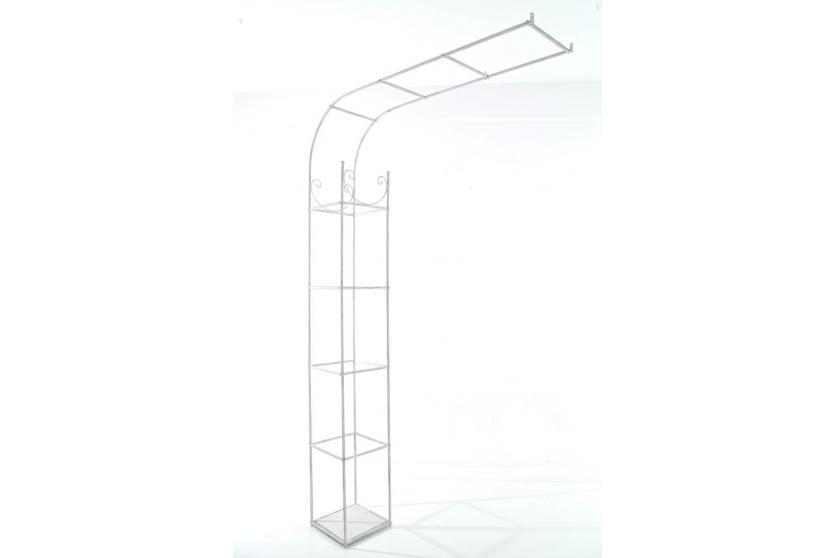 wandrankhilfe cp080 rankhilfe rankgitter eisen 161cm antik wei. Black Bedroom Furniture Sets. Home Design Ideas
