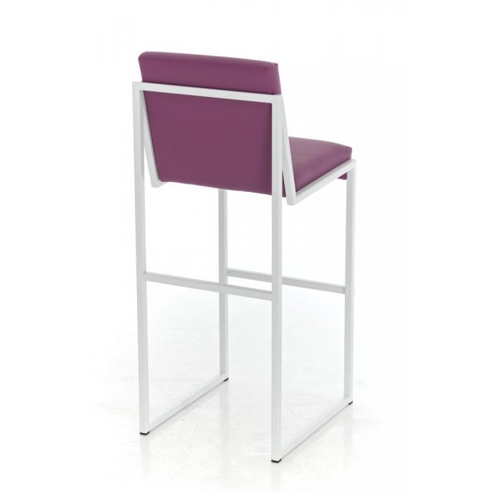 barhocker cp192 barstuhl gestell wei lila. Black Bedroom Furniture Sets. Home Design Ideas