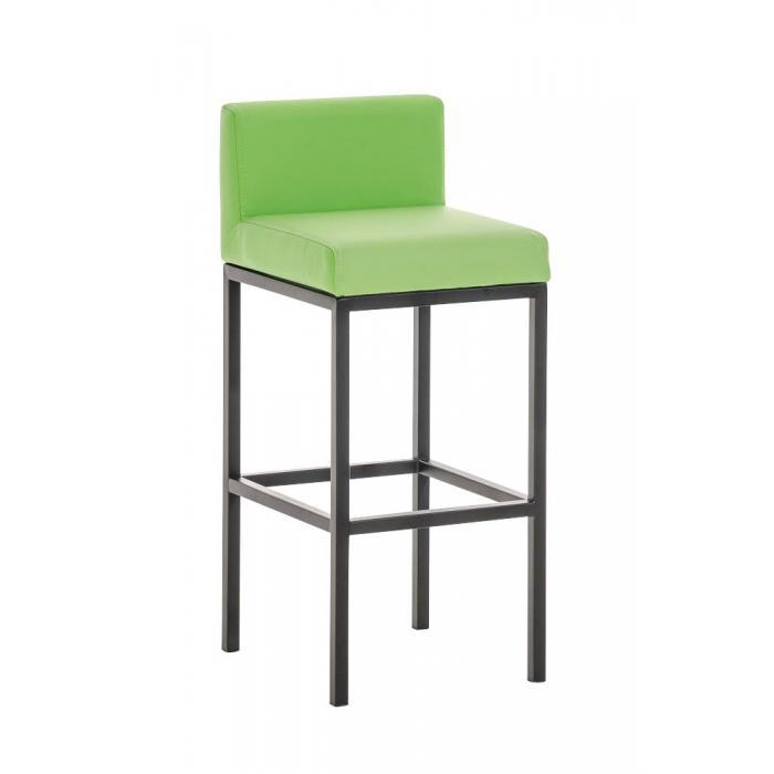 Barhocker Grün cp140 barstuhl gestell schwarz kunstleder grün