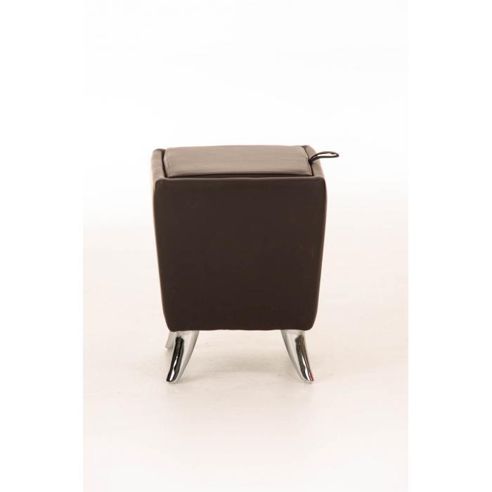 sitzhocker cp212 hocker mit stauraum braun. Black Bedroom Furniture Sets. Home Design Ideas