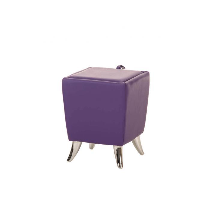 sitzhocker cp212 hocker mit stauraum lila. Black Bedroom Furniture Sets. Home Design Ideas