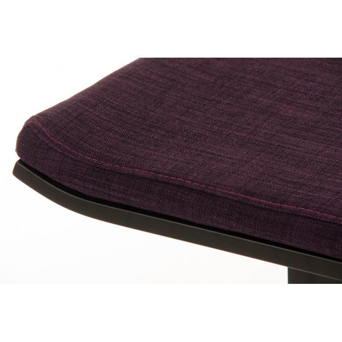 barhocker cp156 barstuhl gestell schwarz 78cm textil. Black Bedroom Furniture Sets. Home Design Ideas