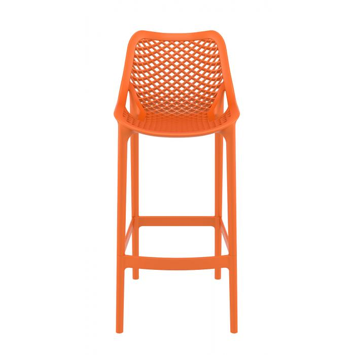 Barhocker cp121 barstuhl kunststoff orange for Barhocker design kunststoff
