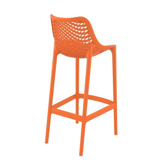 Barhocker Orange cp121 barstuhl kunststoff orange