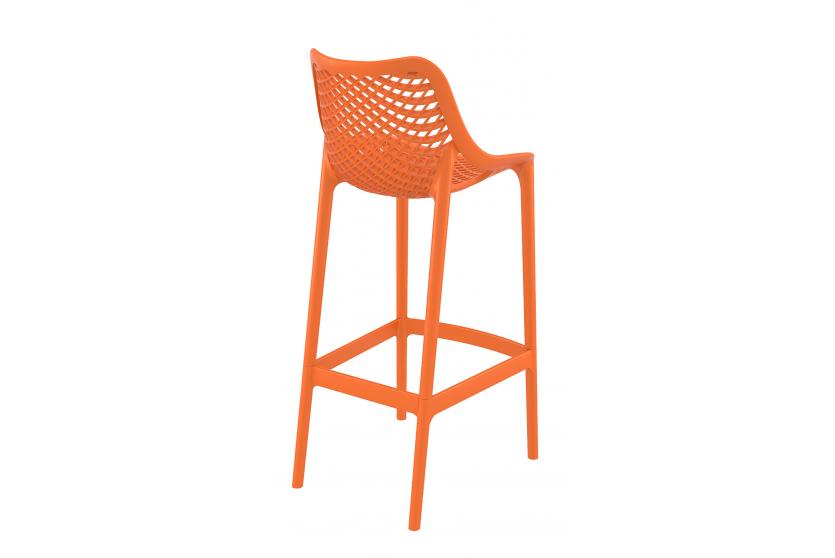Barhocker cp121 barstuhl kunststoff orange for Barhocker orange