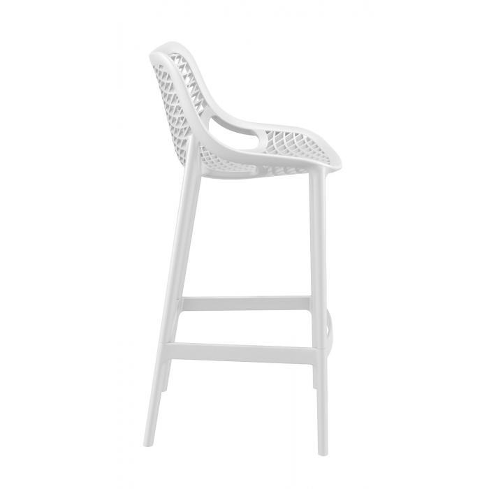 barhocker cp121 barstuhl kunststoff wei. Black Bedroom Furniture Sets. Home Design Ideas