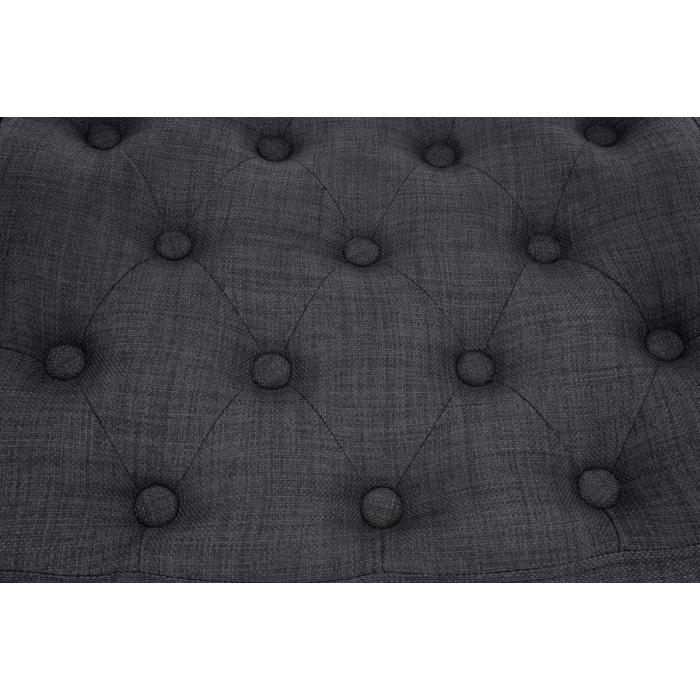Barhocker barstuhl dublin textil grau for Barstuhl grau
