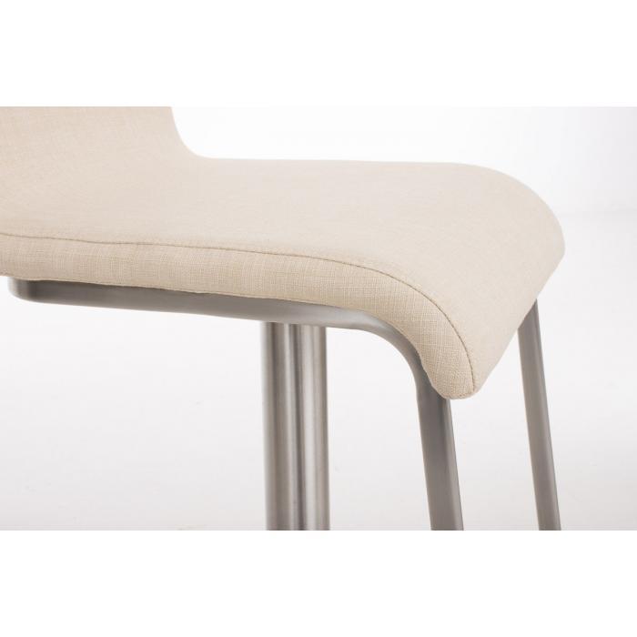 barhocker cp155 barstuhl stoff creme. Black Bedroom Furniture Sets. Home Design Ideas