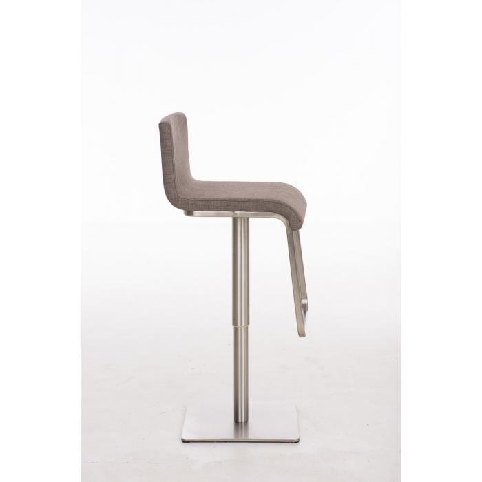 barhocker cp155 barstuhl stoff grau. Black Bedroom Furniture Sets. Home Design Ideas