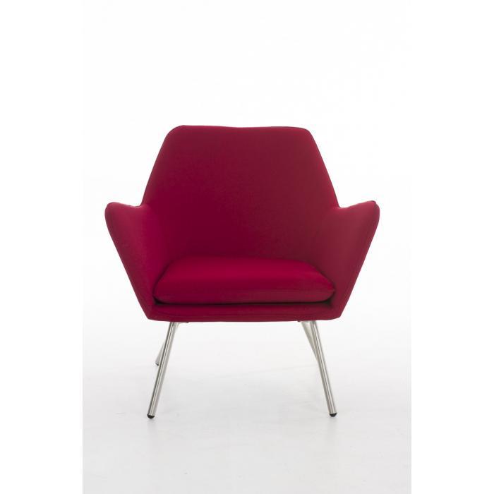 cocktailsessel cp521 lounge sessel lounger sessel textil rot. Black Bedroom Furniture Sets. Home Design Ideas