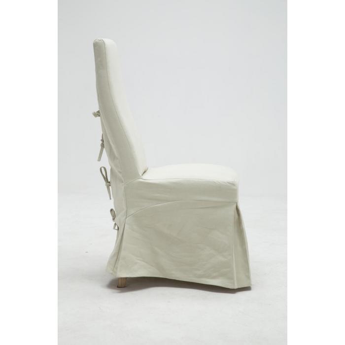 esszimmerstuhl cp593 stuhl lehnstuhl k chenstuhl mit husse 96x46x61cm wei. Black Bedroom Furniture Sets. Home Design Ideas