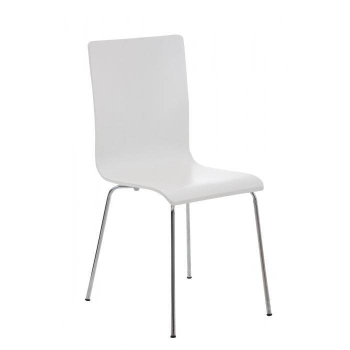 Konferenzstuhl stapelbar  CP586, Konferenzstuhl stapelbar, 87x43x47cm ~ weiß