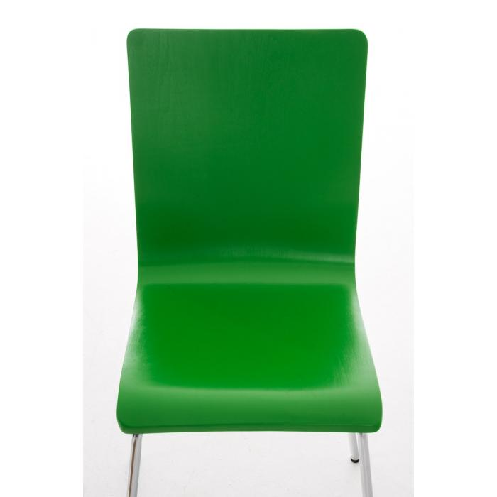 Konferenzstuhl stapelbar  CP586, Konferenzstuhl stapelbar, 87x43x47cm ~ grün
