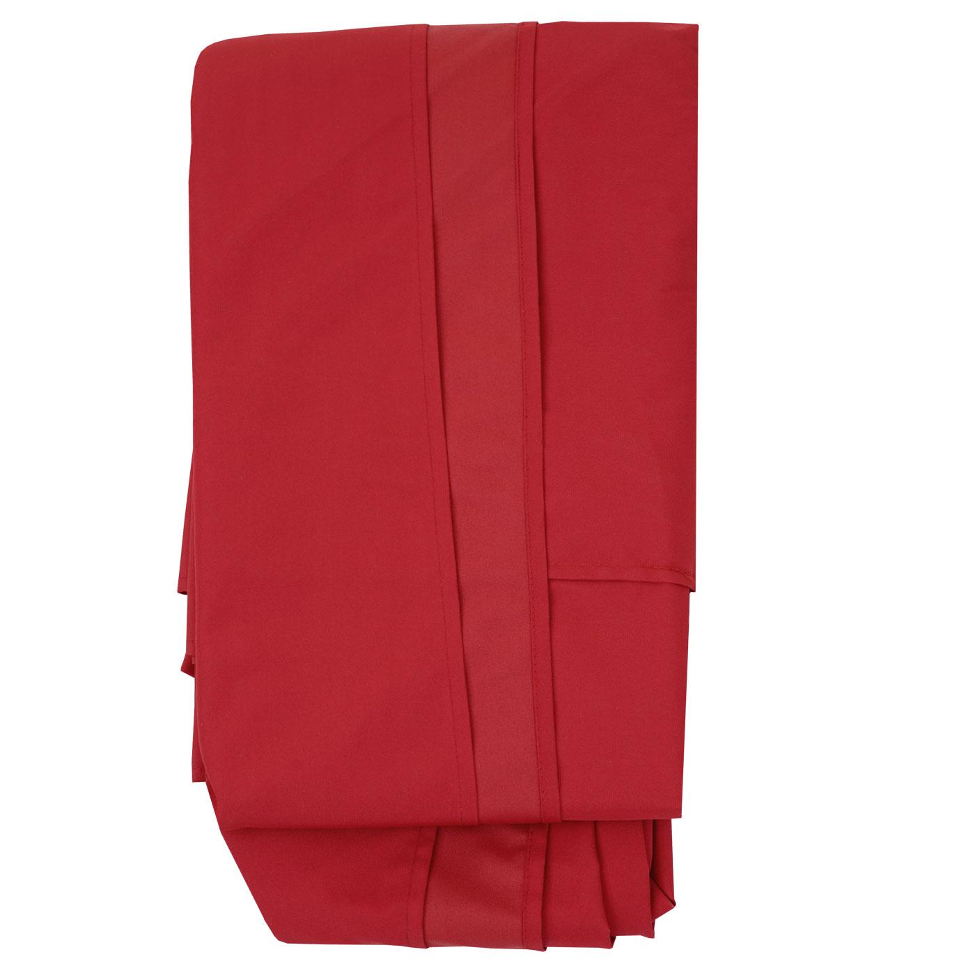 bezug f r luxus ampelschirm hwc sonnenschirmbezug bespannung ersatzbezug 3x4m rot. Black Bedroom Furniture Sets. Home Design Ideas
