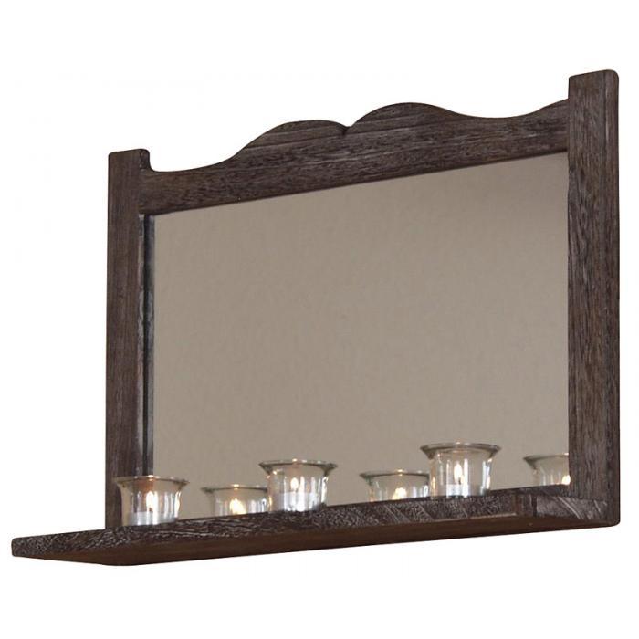 wandspiegel h75 spiegel shabby look vintage 35x58x12cm. Black Bedroom Furniture Sets. Home Design Ideas