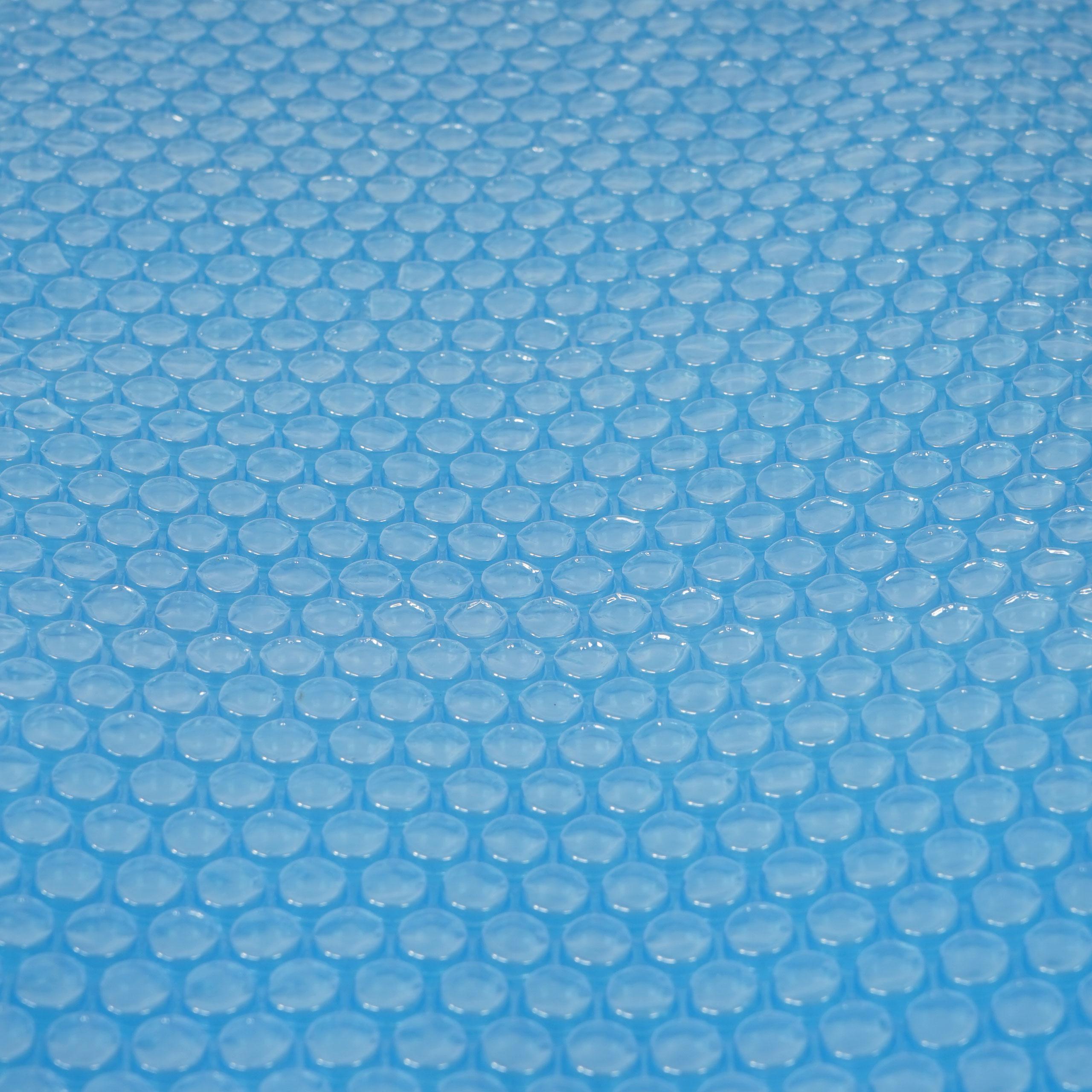 Pool-Abdeckung Wärmeplane Solarplane, Solarabdeckung, blau, Stärke: 400 µm, rund, 4,57 m