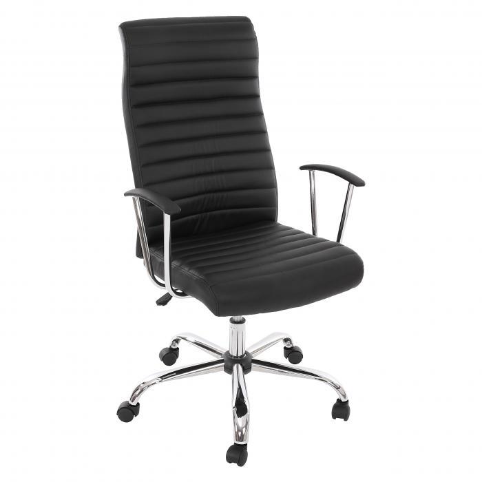 Ergonomischer bürostuhl preise  Drehstuhl Chefsessel Cagliari, ergonomische Form ~ schwarz