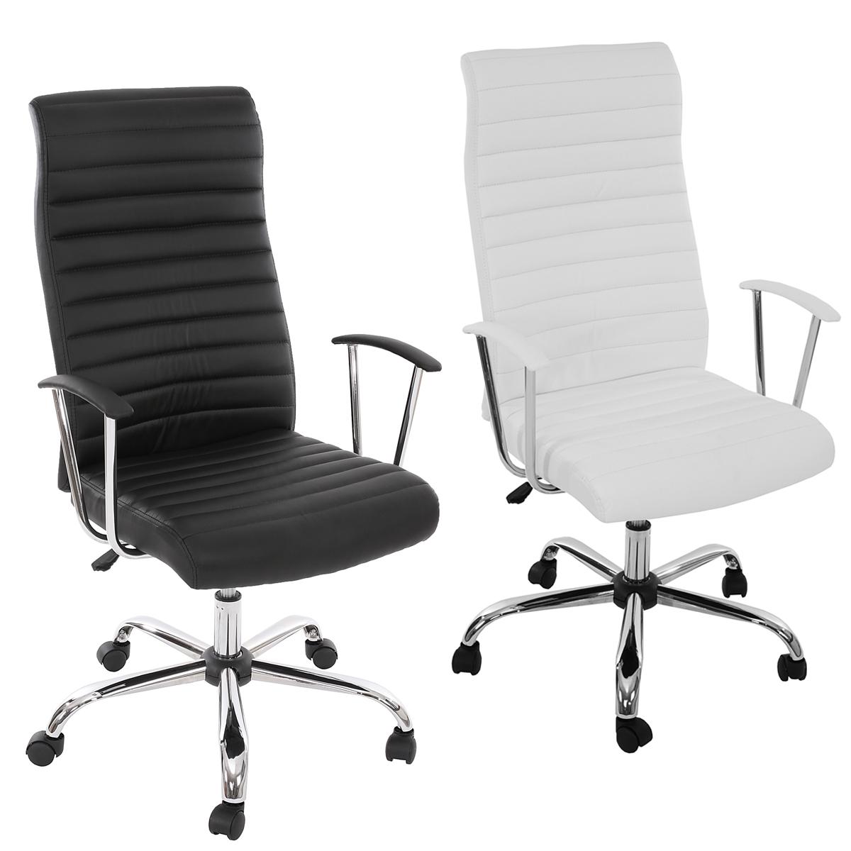Ergonomischer bürostuhl weiß  Bürostuhl Drehstuhl Chefsessel Cagliari, ergonomische Form ...