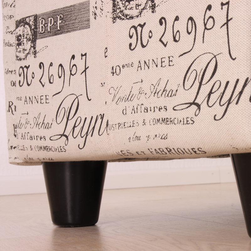 Sitzbank Kriens: Detailbild Fuß