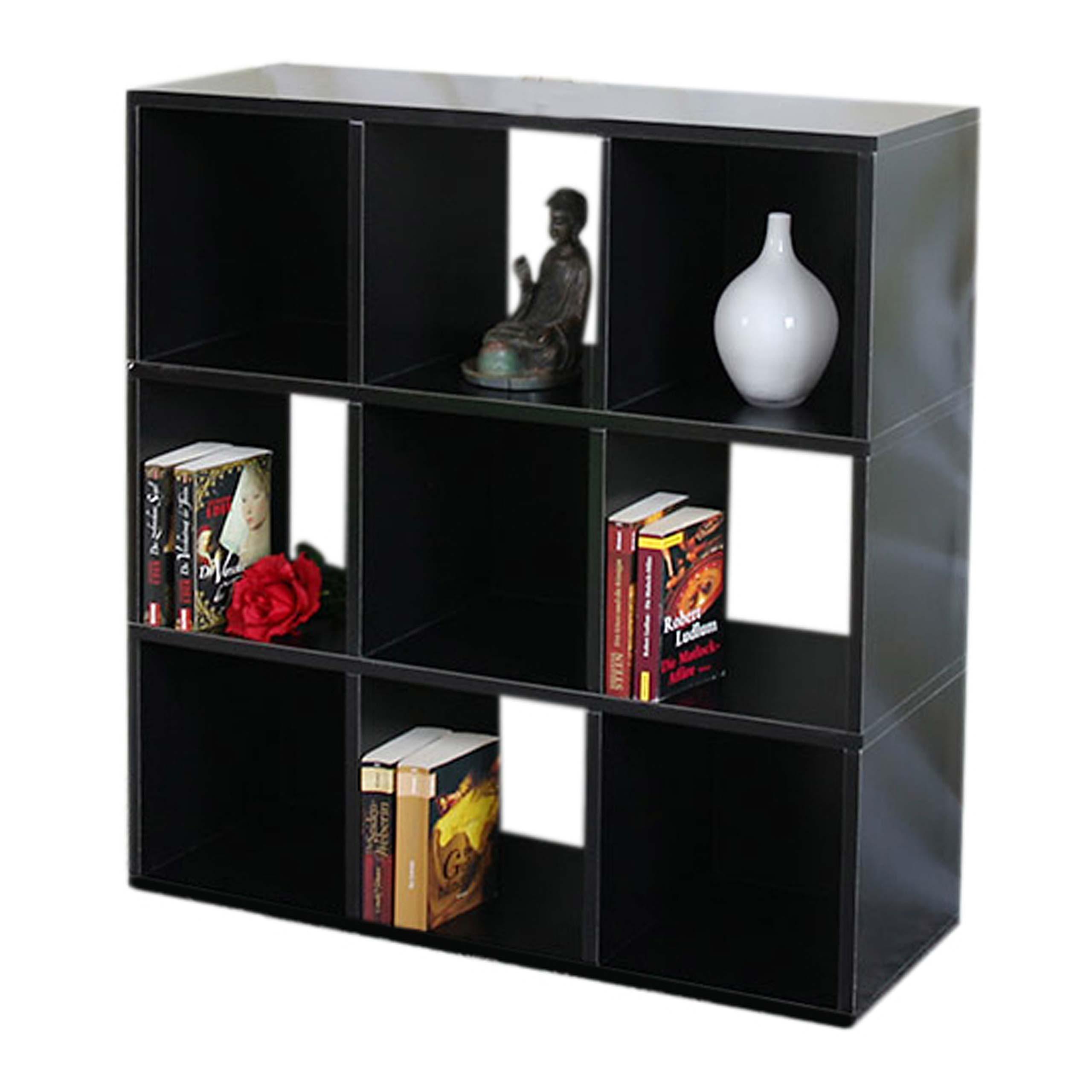 modul regal savoie schwarz. Black Bedroom Furniture Sets. Home Design Ideas