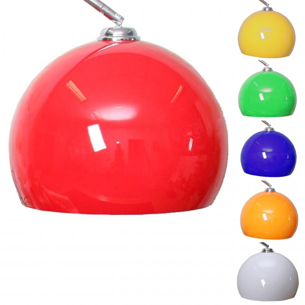schirm f r bogenlampe lounge deal ii lampenschirm 40cm. Black Bedroom Furniture Sets. Home Design Ideas
