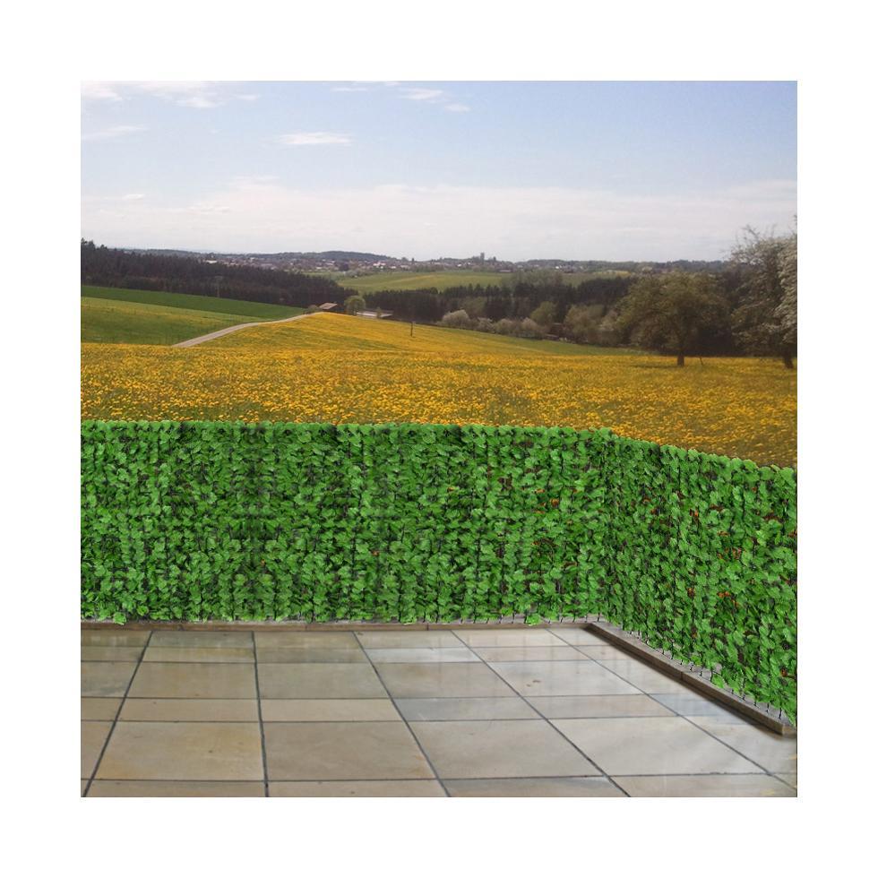 sichtschutz windschutz f r balkon terrasse zaun blatt. Black Bedroom Furniture Sets. Home Design Ideas