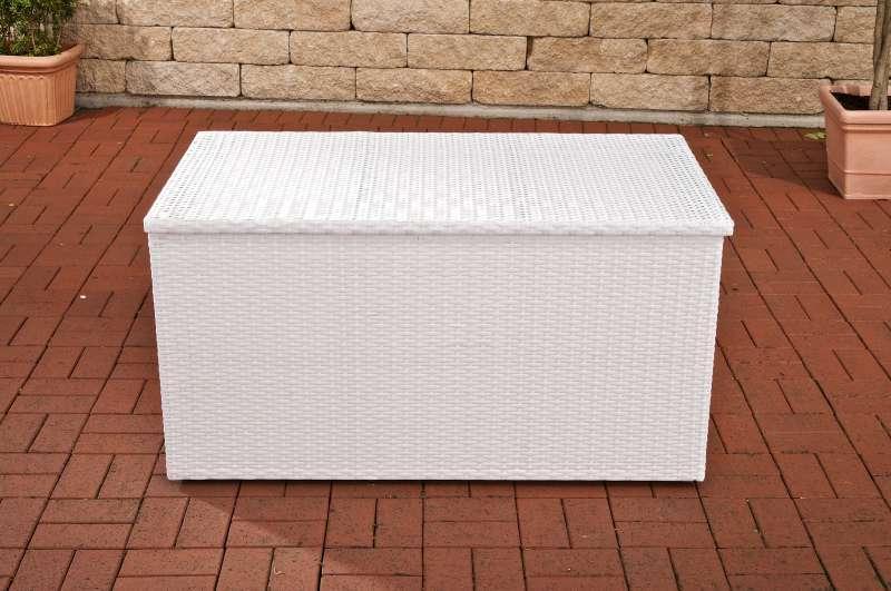 Auflagenbox weiß