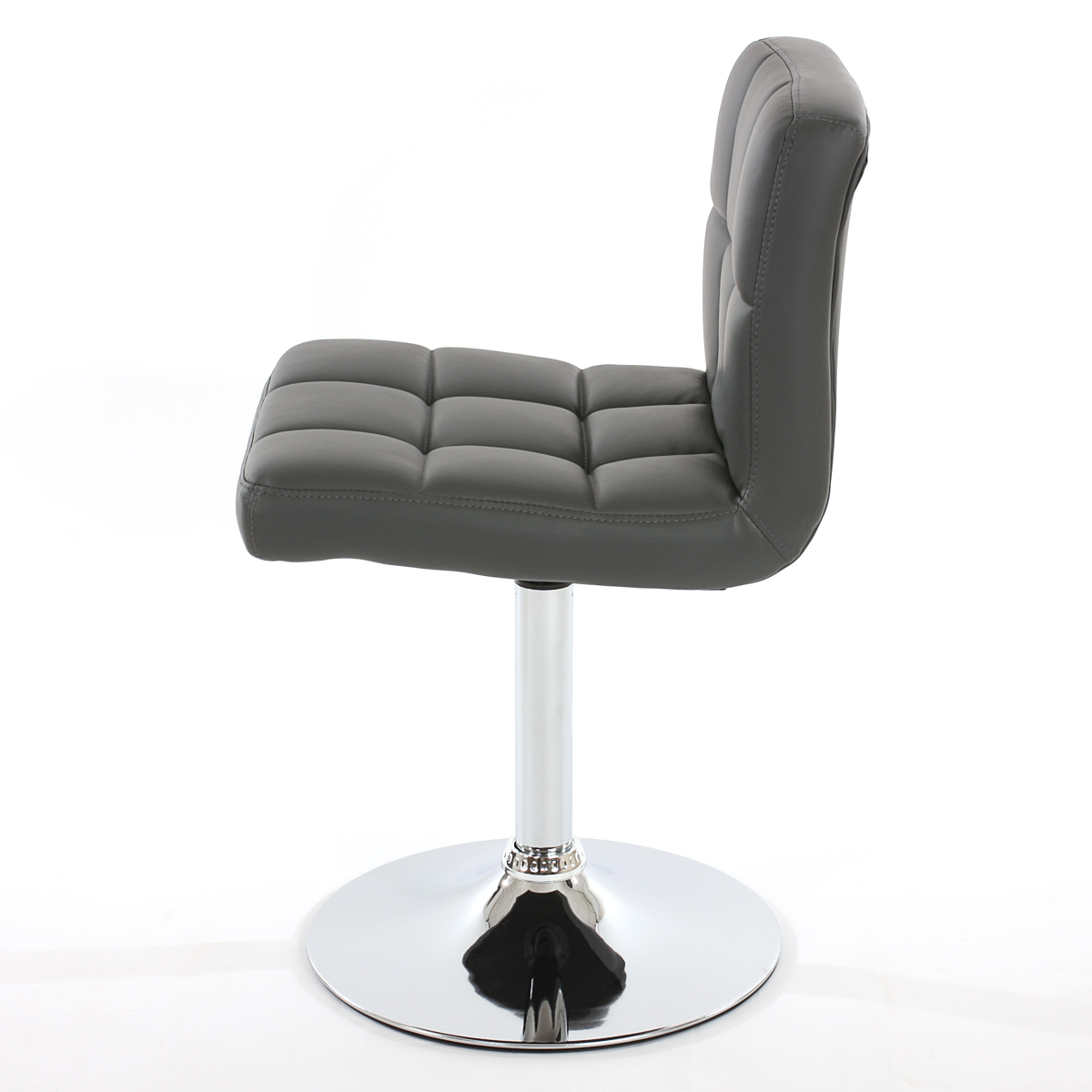 schwarz creme weiß grau braun 2x Esszimmerstuhl Drehstuhl Kavala Kunstleder